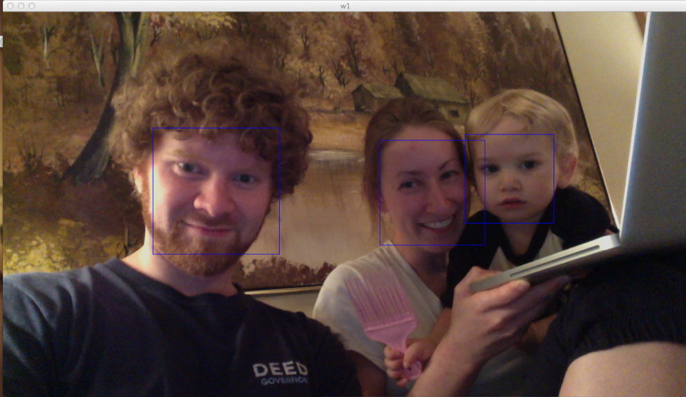 Facial recognition with OpenCV